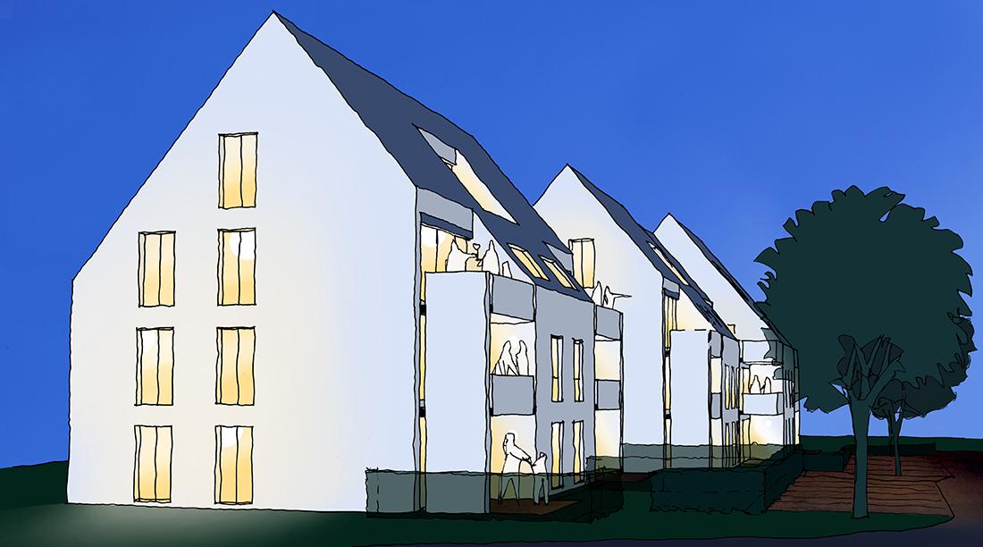 wohnbebauung_gebersheim_Bosch Skizze_Nacht_news